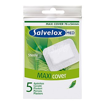 Salvelox Apósito maxi cover esteril 76x54 mm 5 ud