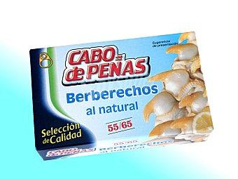 Cabo de Peñas Berberechos Cabo de Peñas 55/65 piezas 63 g peso neto escurrido