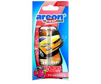 AREON Ambientador, perfumador líquido para colgar, olor fresa 1 unidad