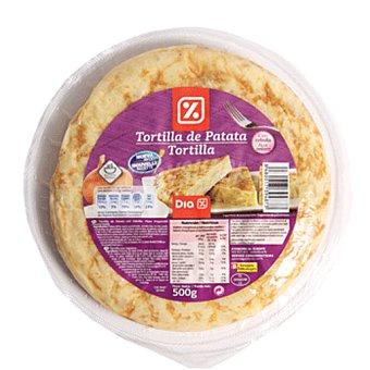 DIA Tortilla refrigerada con cebolla bolsa 500g