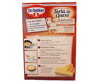 DR.OETKER Preparado para Tarta de Queso 8 raciones estuche de 400 g