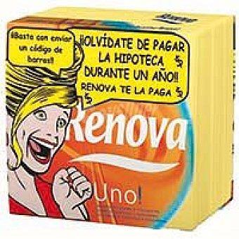 RENOVA UNO Servilletas papel surtidas 1capa Paquete 70 unid