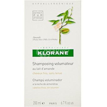 Klorane Champú de leche de almendra Bote 200 ml