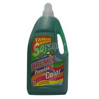 Brumol Detergente prendas color en gel 4 L 4 l