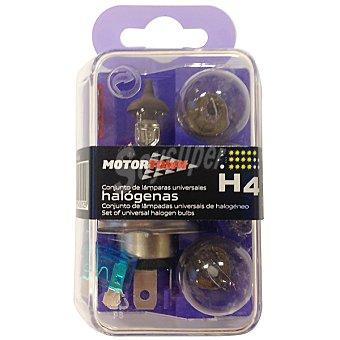Motortown h 4 kit de lámparas de automóvil universales halógenas