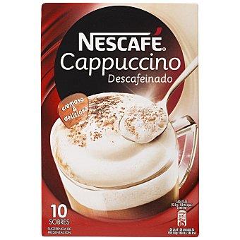 Nescafé Estuche capuccino descafeinado 10 sobres (125 g)