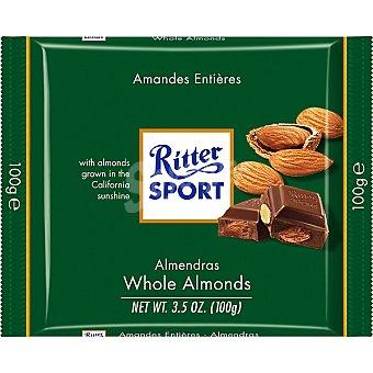 Ritter Chocolatina con almendras 100 g