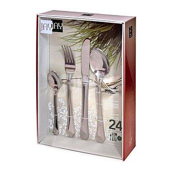 Cuberteria de mesa 24 piezas modelo 24 piezas