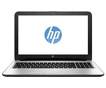 """HP Ordenador portátil con pantalla de 15.6"""", procesador: AMD E2-7110, Ram: 4GB, Disco duro: 500GB, gráfica: Radeon R2, Windows 10 15,6"""" 15-BA011NS"""