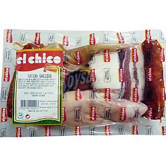 El Chico Preparado para cocido gallego con chorizo, oreja, costilla, tocino ibérico y codillo de jamón de cerdo peso aproximado 650 g