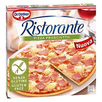 Ristorante Dr. Oetker Pizza prosciutto jamón y queso sin gluten Caja 345 g