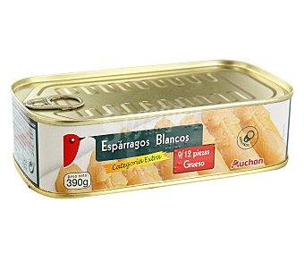 Auchan Espárragos 8/12 piezas Lata de 250 gramos