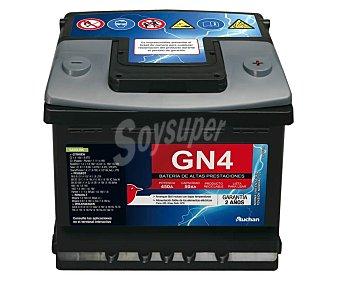 GENIUM Batería de Automóvil de 12v y 50 Ah, Potencia de Arranque: 450 Amperios 1 Unidad