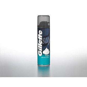 Gillette Espuma de afeitar para pieles sensibles Bote 200 ml