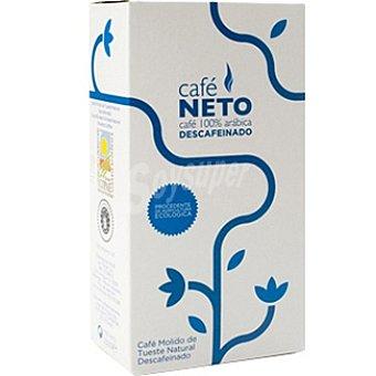 CAFENETO Café descafeinado molido ecológico Paquete 250 g
