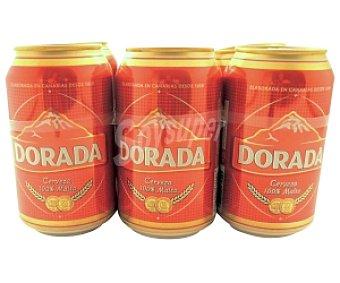 Dorada Cerveza Pack 6 Unidades
