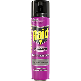 Raid Insecticida Multi-Insectos agradable fragancia Spray 300 ml