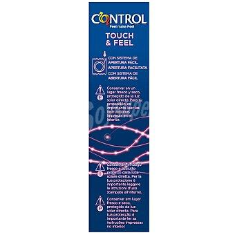 Control Preservativo touch&feel Caja 12 unid