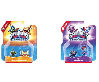 SKYLANDERS Pack de 2 Figuras Mini Trap Team 1 Unidad