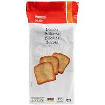 Eroski Basic Biscotte normal Paquete 750 g