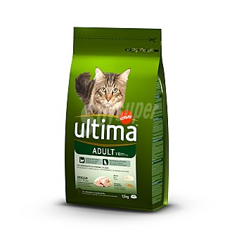 Ultima Affinity Alimento seco para gatos adultos con pollo y arroz Bolsa de 1,5 kg