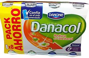 Danacol Danone Yogur liquido danacol natural (reduce el colesterol) 8 unidades de 100 g