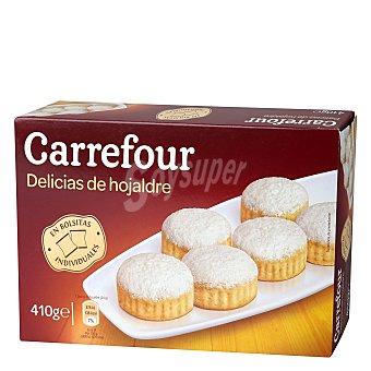 Carrefour Delicias de hojaldre 410 g