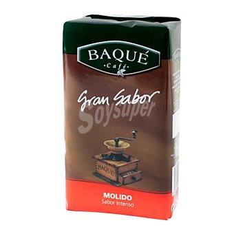 Baqué Café Molido Natural Aroma Intenso paquete 250 g