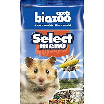 BIOZOO AXIS SELECT MENU Alimento completo para hamster Paquete 1 kg
