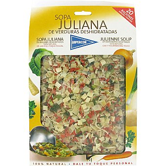 Hipercor Preparado para sopa juliana deshidratada Estuche 200 g