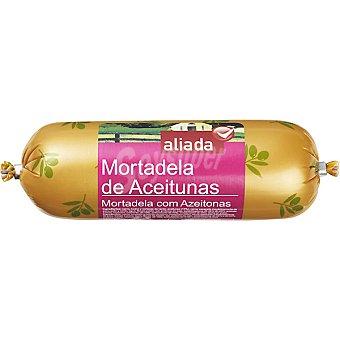 Aliada Mortadela con aceitunas  Pieza 400 g