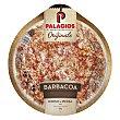 Pizza de masa fina barbacoa 400 gramos Palacios