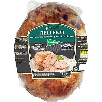 El Corte Inglés Pollo relleno con pasas y piñones y asado horno  Pieza 1 kg
