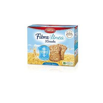 CUETARA galletas de fibra linea paquete 500 gr