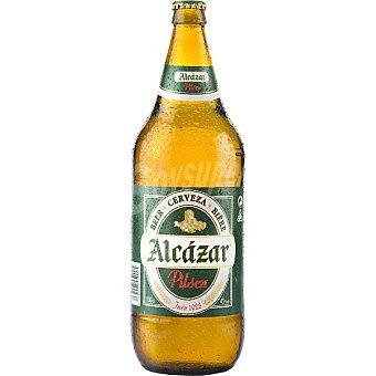 Alcázar Cerveza rubia nacional botella 1 l Botella 1 l