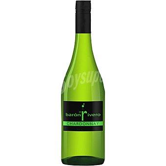 BARON DE RIVERO Vino blanco seco chardonnay D.O. Sierras de Málaga botella 75 cl 75 cl