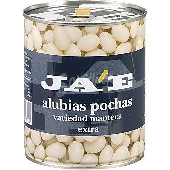 JA'E Alubia pocha manteca cocida extra al natural Lata 1000 g neto escurrido