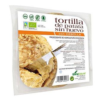 Soria Natural Tortilla de Patata con Cebolla Bio (sin huevo, sin gluten y sin lactosa) 250 Gramos