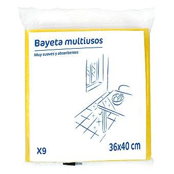 9 Bayetas Multiusos - Colores surtidos 9 ud