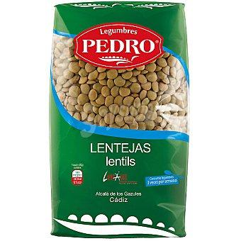LEGUMBRES PEDRO Lenteja castellana  paquete 1 kg