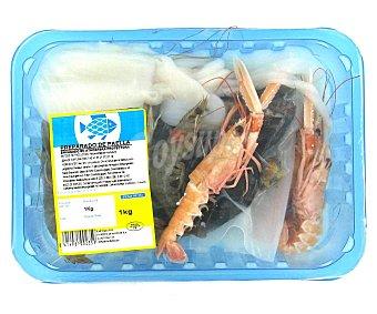 MARISCO Preparado de mariscos para paella bandeja 1 Kilogramo