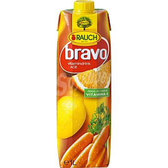 RAUCH Bravo Néctar Ace frutas diversas con Vitamina C envase 1 l Envase 1 l