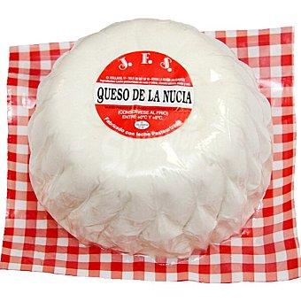 JFS queso fresco de La Nucia peso aproximado pieza 2 kg