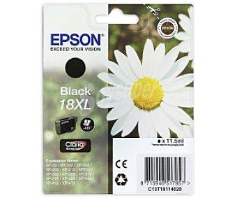 Epson Cartucho para impresora Negro 18 XL Compatible con impresoras: XP-30 / XP-102 / XP-202 / XP-205 / XP-302 / XP-305 / XP-402 / XP- 405