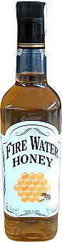 HONEY Whisky fire water (con sabor a miel) Botella de 700 ml