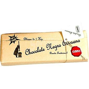 Caro Chocolate negro artesano tradicional envase 1 kg envase 1 kg