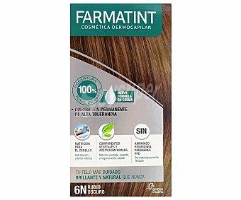 Farmatint Coloración en crema permanente 6-N rubio oscuro 155 mililitros