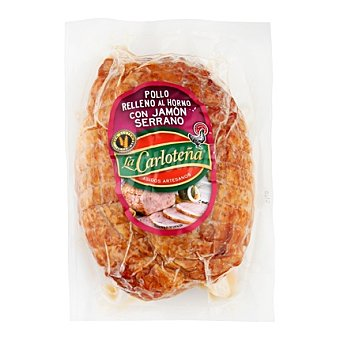 La Carloteña Mini pollo con jamón 600 g