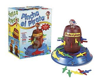 FALOMIR JUEGOS Juego de mesa infantil Pincha el pirata, de 2 a 4 jugadores 1 unidad