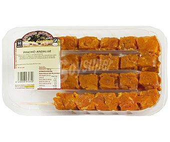 Caysan Bandeja con pinchos de jamón de cerdo con adobo andaluz